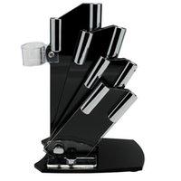 Wholesale New brand Black knife holder knife block for Ceramic Knife set holder for knives suporte para facas