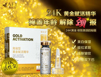Wholesale AFY Gold Activation High end Gold Revive Essence K Recovery Neck Serum Neck Essence Rejuvenating Neck Decollete Treatment Moisturing A2