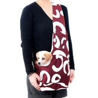 Wholesale Pet Carrier Bag Oxford Cloth Small Dog Cat Carrier Single Shoulder Bag Warm Winter Black Red Blue Brown Colorful H9427