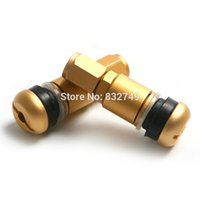 auto valve replacement - Golden Color Car Auto Wheel Tire Tubeless Valves Stem Covers Truck Motorcycles Replacement Wheel Tire Valve Caps order lt no track