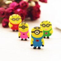 >3 years Movie Fantastic Erasers New Cute Despicable Me Minions Cartoon Pencil Rubber Eraser Gift stationery Cartoon Erasers for Kids
