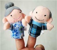 big foam finger - Hot Sale New Cute Family Reunions Harmony Cloth Puppets Plush Doll Baby Educational Hand Toy Gift Size cm by cm Color Mult