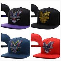 Cheap Dipset U-S-A Diplomats Eagle Logo camo Snapback hats outdoor travel women's men's gorras bones baseball caps fast shipping