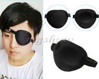 Wholesale 2PCS Medical Use Concave Eye Patch Foam Groove Washable Eyeshades Adjustable Strap