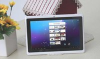 Wholesale cheap tablet pc Q88 x600 screen Android Large stock GB mb Tablet PC A23 Dual Core Dual Camera Capacitive WIFI Tablet