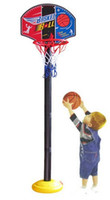 basket ball goals - Kids Basketball Goal Stand Hoop Set with Ball Pump Boys Outdoors Sports Toy Children Basket
