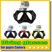 Wholesale Gopro diving glasses for go pro hero and SJCAM SJ4000 SJ5000 Soocoo s60 Xiaomi yi dive Sports Camera Accessories