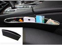 Wholesale 2pcs New PP Material Car Storage Box Car Seat Gap Storage Organizer Car Accessories Package with Box Style B