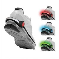 shoe clips - LED Clip Lights Ultra Bright LED Shoe Clip PAIR Increase Visibility Perfect for Running Cycling Walking FREE Batteries