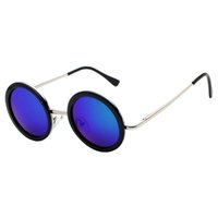 authentic film - New Fashion Cool Authentic Korean Children s Cute Round Colorful Sunglasses Baby Resin Color Film Outdoor Summer Sunglasses