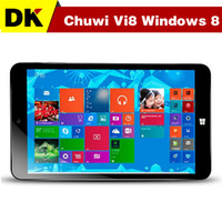 Wholesale 2015 CHUWI VI8 GB GB inch IPS x800 Piex Intel Z3735F windows Android Dual OS tablet pc Bluetooth Multi Language tablets