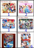 Wholesale 70pcs Small and Big Tin Cartoon Paper Puzzle Children Children s Toy Animated Cartoon Classics Animal Hot Sale Gift