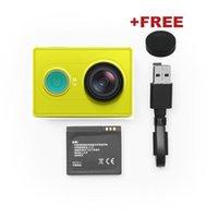 basic edition - 100 Certified Xiaomi Yi Action Camera Green Basic Edition Xiaoyi Sports Camera with Original Monopod Xiao Yi Waterproof Camera order lt no