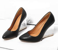 gorgeous fabrics - Gorgeous Crystal Clear High Heels Womens Pointed Toe Dress Party Shoes Pumps