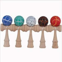 Wholesale FEDEXIP DHL cm crack ball Kendama Ball Japanese Traditional Wood Game Toy Education Gifts