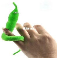 trick worms - New Arrive Magicians Toy Baralho Mr fuzzy Magica Worm Magic Trick Twisty Plush Wiggle Stuffed Animals Street Toy For kids gift cm