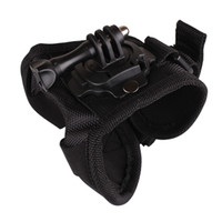Wholesale Diving degree rotation Arm hand Palm Strap Elastic Mount adapter for Gopro Go Pro Hero4 xiaomi yi sj4000 accessories