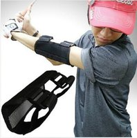 Wholesale Golf Swing Training Straight Practice Golf Elbow Brace Corrector Support Arc zj