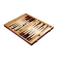 Wholesale Fashion Family Travel entertainment Toys inch high quality Flower camphor Wood Backgammon Games