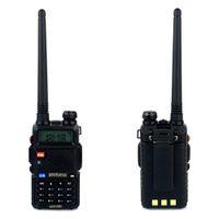 best dual band transceiver - Best UV R Radio Walkie Talkie Pofung UV R W CH UHF VHF Dual Band Radio Comunicador Two Way Radio Ham HF Transceiver A7108A