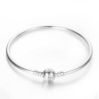 pandora bracelet - Pandora Sterling Silver Plated SILVER BANGLE BRACELET