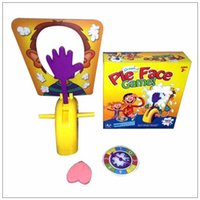 Wholesale 18pcs Child Games Korea Running Man Pie Face Game New Children Novelty Interest paternity toy
