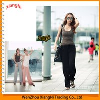 Wholesale Hot Women s Modal Plus Size Dance Long Sports Trousers Fitness Confortable Yoga Sweat Pants Running Tights Gym Clothes Women order lt no tra