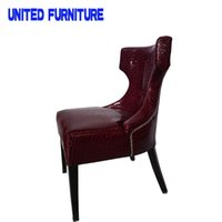 Wholesale Factory Outlet modern minimalist fashion Italian leather sofas living room upscale hotel chair single chair