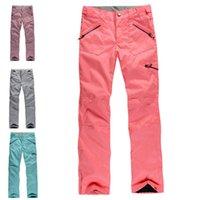 Wholesale NEW High Q Women s ski pants Trousers original single ski snowboarding pants waterproof breathable ski pants women suits