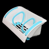 Wholesale Multi purpose Dual Suction Cups Kitchen Sink Sponge Sundries Draining Rack Shelf Storage Holder