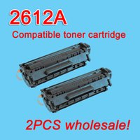 Wholesale HP2612A Q2612A toner cartridge compatible for HP A Laserjet freeshipping