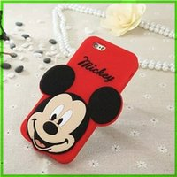 animal cubs - For Apple Iphone plus Cell Phone Accessories Mickey Minnie Bear Mobile Cells Cubs Animal Eye Phone Cases Covers
