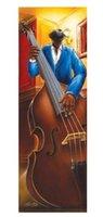 bass guitar graphics - Jazz Bass Guitar Music Moden Art Classical stylish Home Decor Retro Poster x76cm Wall Sticker