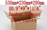 Wholesale D2C mm pieces layers hard Recyclable package carton express courier mailing Corrugated board box