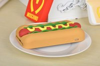 apple hot dogs - New Funny Delicious Food D Tempting Hot Dog Jam Bread Soft Silicone Rubber Case Cover Apple iPhone S iPhone6