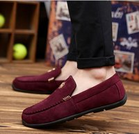 Cheap 2016 Autumn Mens Loafers Leather Slip On Mens Shoes Casual Driving Shoes For Men Flat Shoes Fashion Moccasins Chaussure Homme