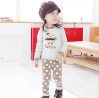 Wholesale Winter New Baby Homewear Clothing Set Thicken Add Wool Warm Hamburger Toddler Boy Girl Underwear Suit Children Home Wear Sets WD432