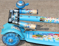 bell scooter - Manufacturers selling and retail small wide plate suspension with bells children s scooter