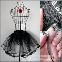 Wholesale and Retail White Black Hoop Layered Short Ballet Skirt Crinoline Underskirt Slips Petticoat