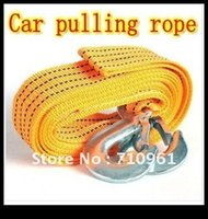 auto brake cable - Nylon tons Towing rope Car Tow Cable CAR AUTO Truck Trouble Repair Tools emergency Pulling Tool strap Tow Rope
