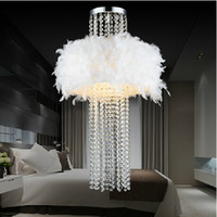 best hotel bedrooms - droplight ceiling lamp Absorb dome light crystal feather chandelier size cm W cm H with best K9 crystal