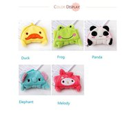 Wholesale quot Fun Dry quot Character hanging towel cute animals baby hand towel cartoon hanging bath towel five colors
