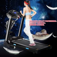 Wholesale Exclusive Professional Treadmill Electric Bodybuilding treadmills home usage Running machine fitness equipment Fast shipping