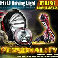 hid xenon lighting - led outdoor light for inch HID Xenon Fog Work Light Lamp For Offroad SUV W V Spot Flood sportlight SUV bar light driving car