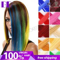 Wholesale Hair extension for women Long Synthetic Clip In Extensions Straight Hairpiece Party Highlights hair pieces
