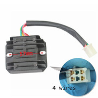 Wholesale Brand New Wires Voltage Regulator Rectifier ATV GY6 cc Scooter Moped JCL NST TAOTAO Drop Shipping