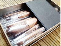 Cheap Makeup Tools Brushes Nude 12 piece Professional Brush sets Iron box top quality