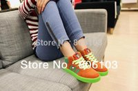 wave skateboard - 014 Special Offer Patins Shoes Skateboard Monkey Mouth High Shoes Korean Wave Of Hip hop Casual Couple Models Within The Higher