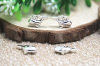 baby whale fish - 25pcs Whale Charms Fish Charms Antique tibetan silver Baby Carriage Charms Pendants x10mm