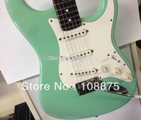 beck guitar - best china guitar Deluxe Model Jeff Beck Made in USA Surf Green Electric Guitar100 Excellent Quality